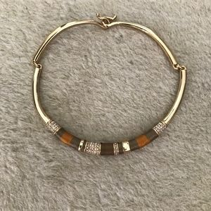 J.CREW THREADED CHOKER NECKLACE MULTI C4949